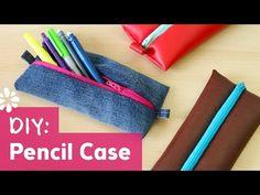 Back to School DIY Pencil Case - YouTube