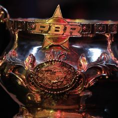 PBR World Champion trophy