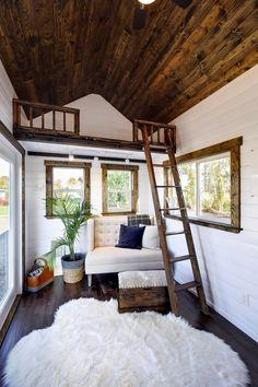 Storage Loft - 26' Napa Edition by Mint Tiny Homes