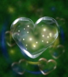 heart in bubble - Google Search