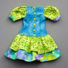 Lots of Excellent Free Doll Clothes Tutorials