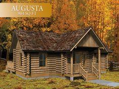 log hunting cabin kit   Log Cabins