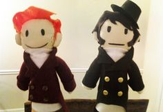 Pride and Prejudice Puppet Pals by ~DarcyBing on deviantART