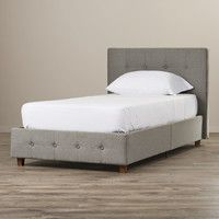 Amherst Upholstered Panel Bed