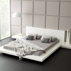wall-decor-and-pendant-lighting-with-platform-bed-plans-also-nightstand-and-floating-platform-bed-with-tile-flooring-plus-glass-walls-with-minimalist-bed-frame-and-bedding-also-accent-pillows