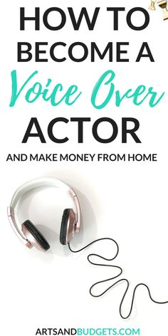 Looking for ways to make money from home? This interview with Carrie shares how to become a voice over actor and make money from home. | Ways to make money from home | make money online | how to make money fast | Ways to make money for moms | ways to make money for college students | ways to pay down debt | #makemoneyonline #sidehustle