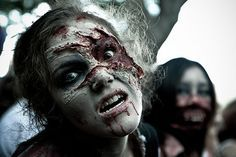 How to Look Like a Zombie: 7 Steps (with Pictures) - wikiHow.  How to make my cute little zombie family for Halloween :)