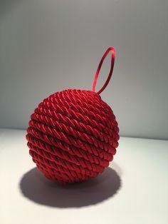 Bola de cordon de navidad