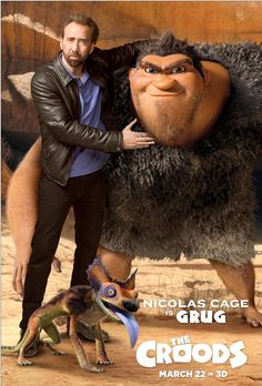 Check out the family's review of The Croods here: http://chaptersandscenes.wordpress.com/2014/02/19/the-family-reviews-the-croods/
