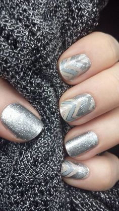 Jamberry Nails: Diamond Dust Sparkle and Sugar & Spice ❤️ http://apickle.jamberrynails.net