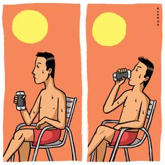Calor #hot #calor #illustration #ilustracion