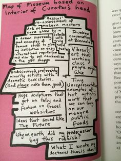 How outstanding is this wry depiction of a modern art museum?? Cracked me up. It's (c) Grayson Perry. #nailedit