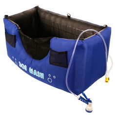 Portable and Inflatable Dog Bathing Station