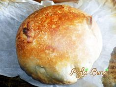 Paine neframantata Bread Recipes, Cooking Recipes, Cooking Ideas, 30 Minute Meals, Mediterranean Recipes, Pizza, Food, Big Project, Home