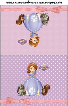 Princess Sofia the First Party Invitations, Free Printables.