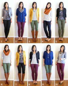 É uma forma relativamente fácil e divertida de usar suas roupas com mais criatividade.
