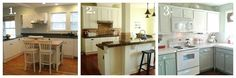 Light and Bright 1950's Ranch Kitchen Makeover - Remodelaholic