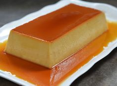 Caramel Flan - Once Upon a Chef TESTED & PERFECTED RECIPE - An ultra-creamy Latin flan with a luxurious texture.<br> Flan is a rich, sweet custard topped with caramel sauce. It looks fancy, but it's actually quite simple to make. Caramel Flan, Far Breton, Baking Set, Custard, Mexican Food Recipes, Sweet Tooth, Sweet Treats, Fudge, Cooking Recipes