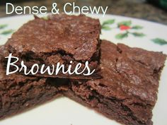 This has been my go-to recipe for brownies over the years, mostly because it's very easy, and tastes great every time!  It tastes amazing wi...
