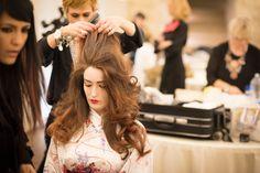 #BackStage evento #HappyHour2016 organizzato da Giusy D'Onghia - Art Director Kultò Hair Academy  #giusydonghia #capelli #hair #hairdesign #tendenzecapelli #colore #cut #tagli #accademiaparrucchieri