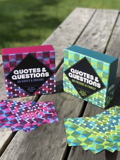 Quotes and Questions: 100 Talk-Provoking Cards Conversation Cards, Hostess Gifts, Thought Provoking, Knock Knock, Thoughts, This Or That Questions, Quotes, Quotations, Quote
