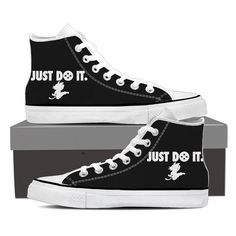 Just Do It Slogan Kid Goku Dragon Ball Sneakers Converse Shoes. #JustDoIt #Slogan #KidGoku #DragonBall #Sneakers #Converse #Shoes