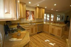 1000 Images About Hickory Cabinets On Pinterest