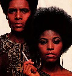 1970 L&M Cigarette Ad// Black America 1970's // 70's Vintage Tobacco Advertisements // Vintage Cigarette Ad Art