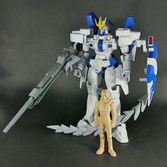 Bandai HG 1/100 Tallgeese II built model kit Gundam W Wing Gunpla Action Figure #Bandai