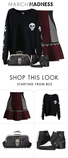 """""""March Madness"""" by nightowl59 ❤ liked on Polyvore featuring Chicwish and Circus By Sam Edelman"""
