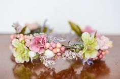 Hey, I found this really awesome Etsy listing at https://www.etsy.com/au/listing/265301362/spring-flower-crown-flower-halo