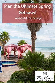 Plan ahead for off luxurious oceanfront stays on Daytona Beach Shores! Book the advance purchase rate for discounted getaways to The Shores Resort & Spa. Palm Coast Florida, Florida Hotels, Florida Vacation, Florida Beaches, Beach Vacations, Florida Travel, Family Vacations, Daytona Beach Restaurants, Daytona Beach Hotels