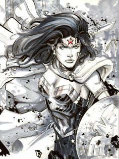 Wonder Woman by Eric Henson *
