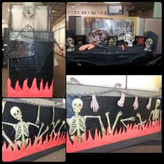 Halloween Cubicle Decorations. True Life Story. Living Hell