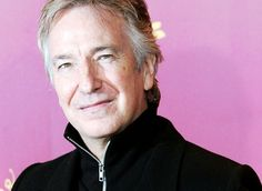 Alan Rickman. More voice love, and he's yummy to boot.