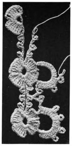 How To Make Crochet Lace, 2nd Album. Cartier Bresson (1920). In the public domain.