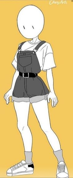 Anime Outfits, Fashion Outfits, Kleidung Design, Drawing Anime Clothes, Clothing Sketches, Cute Art Styles, Fashion Design Drawings, Character Outfits, Club Outfits