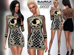 xpuresim:  -Balmain Dress - Standalone with custom thumnbail. DOWNLOAD ( October 15, on TSR)