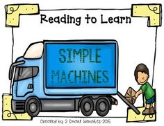 This booklet includes a nonfiction passage about simple machines, common core activities and think marks poster for nonfiction text. This booklet includes a STEM activity where students research and decide what materials they will use for their design.