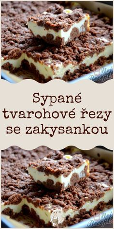 Luxury Food, Czech Recipes, Food Platters, Desert Recipes, Easy Desserts, Love Food, Sweet Recipes, Baking Recipes, Food To Make