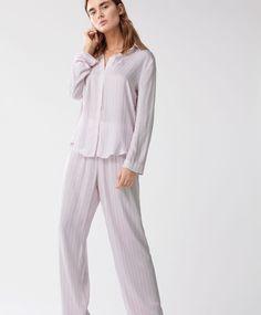 Pink striped PJ's