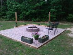 Temporary Fire Pit Landscaping, Outdoor Activities, Environment, Patio, Landscape, Outdoor Decor, Home, Design, Scenery