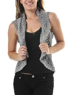 Crinochet: All about Crochet Vests