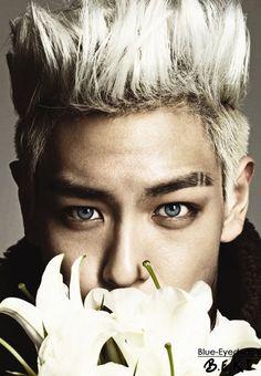 BLUE EYED K-POP IDOLS: #415  Choi Seunghyun (TOP) - BIGBANG
