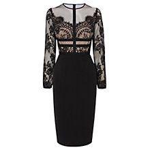 Buy Coast Malinda Lace Dress, Black Online at johnlewis.com
