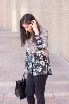 look de otoño con camisa y botines #kissmylook