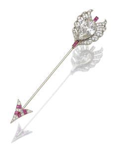Art Deco Earrings, Art Deco Jewelry, Fine Jewelry, Jewelry Design, Jewellery, Antique Jewelry, Vintage Jewelry, Art Nouveau, Arrow Tattoos