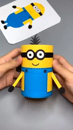 Paper Crafts Origami, Diy Crafts For Gifts, Paper Crafts For Kids, Diy Home Crafts, Creative Crafts, Kids Crafts, Paper Cup Crafts, Toilet Paper Crafts, Clay Pot Crafts
