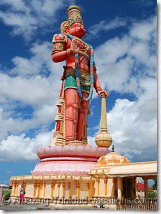 Hanuman Statue in Carapichima