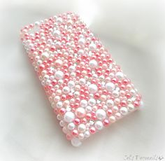 Pink Pearl kawaii decoden phone case iPhone by celdeconail on Etsy